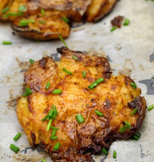 smashed potatoes recipe