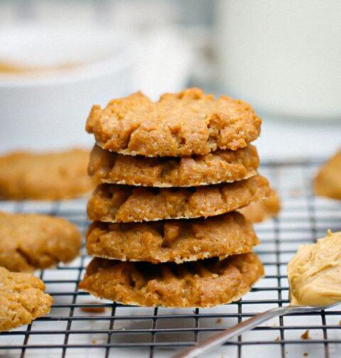 3 ingredient peanut butter cookies keto