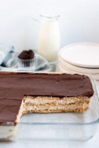 eclair cake puff pastry