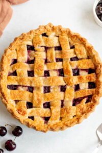 cherry pie with canned filling