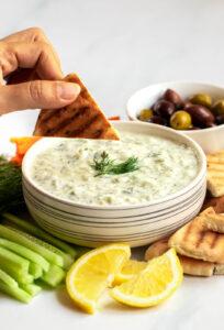 healthy tzatziki sauce