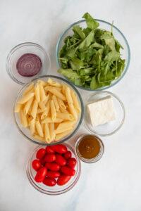spinach bowtie pasta salad
