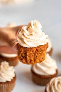 Pumpkin cupcakes recipes