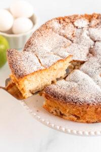 apple cake recipe from scratch