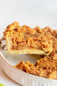 apple crumble pie recipe