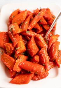 carmelized carrots oven