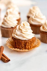 easy Pumpkin cupcakes recipe
