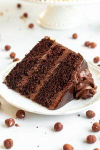 easy nutella cake