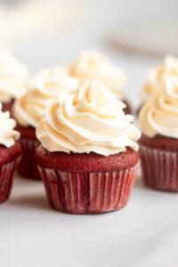 easy red velvet cupcakes recipe