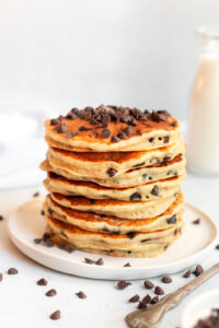how to make chocolate chip pacakes