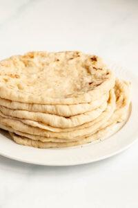 how to make greek pita bread