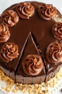 nutella cake design
