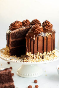 nutella cake frosting