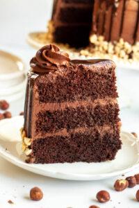 nutella sponge cake