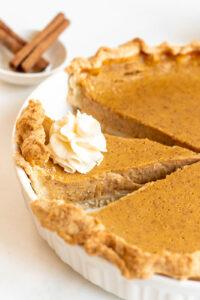 pumpkin pie recipe with real pumpkin