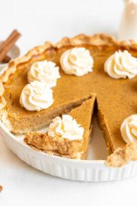 the best ever pumpkin pie