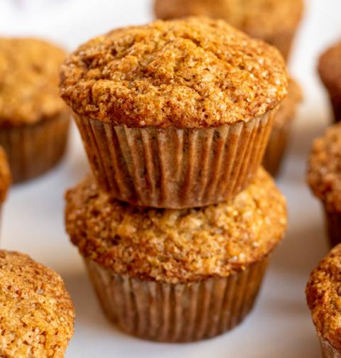 bakery style banana muffins