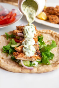how to make chicken gyros at home