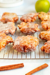 old fashioned apple fritters